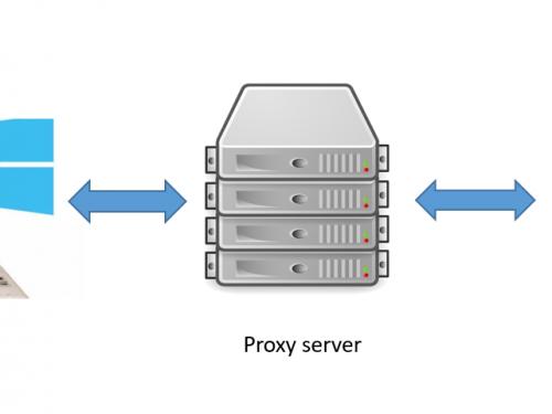 Come passare dalla navigazione con proxy a quella senza e viceversa